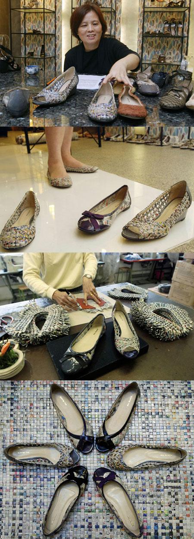 Colin Lin e le scarpe ecologiche