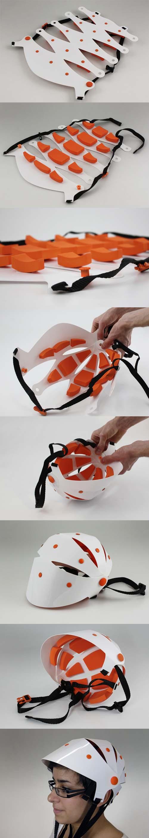 Helmet B: dall\'armadillo al casco