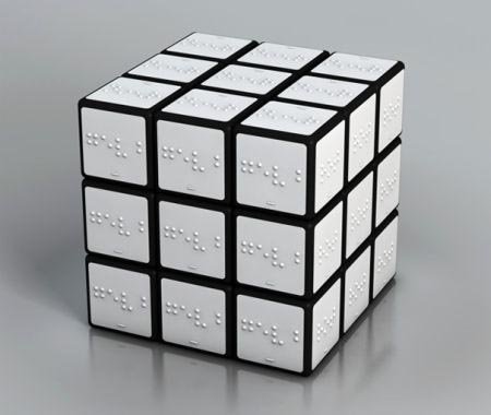 Cubo Rubik in Braille