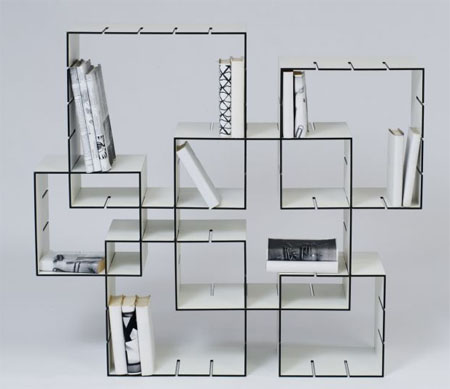 Libreria Konnex, design modulare