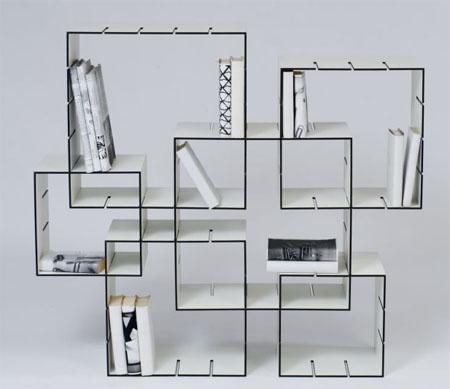 Libreria Konnex, design modulare