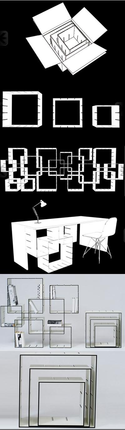 Libreria Konnex design Florian Gross
