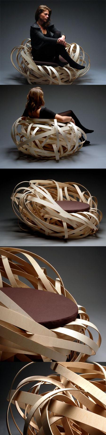 Nest Chair design Nina Bruun