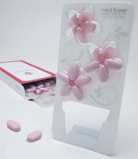 Medi Flower, packaging design