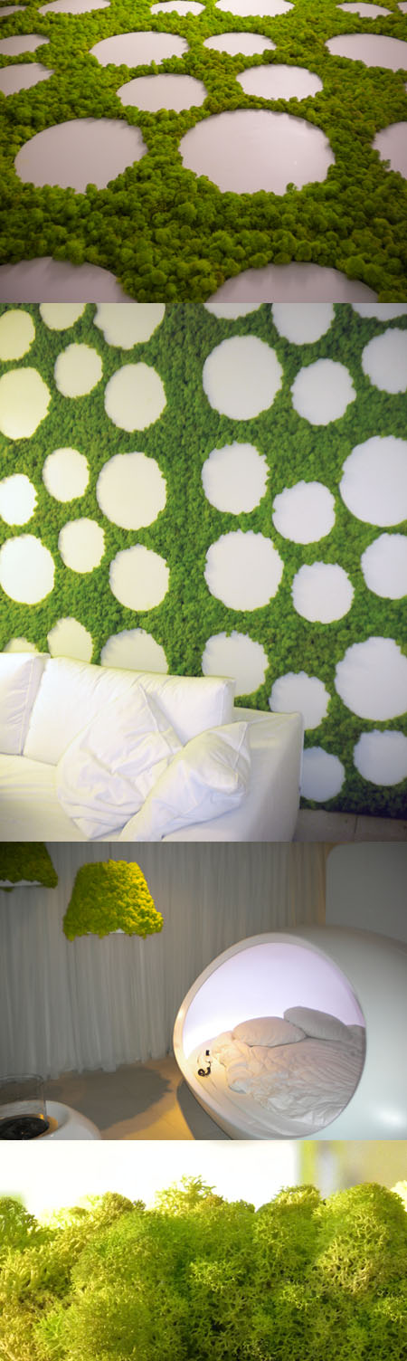 MOSSdesign, giardini verticali