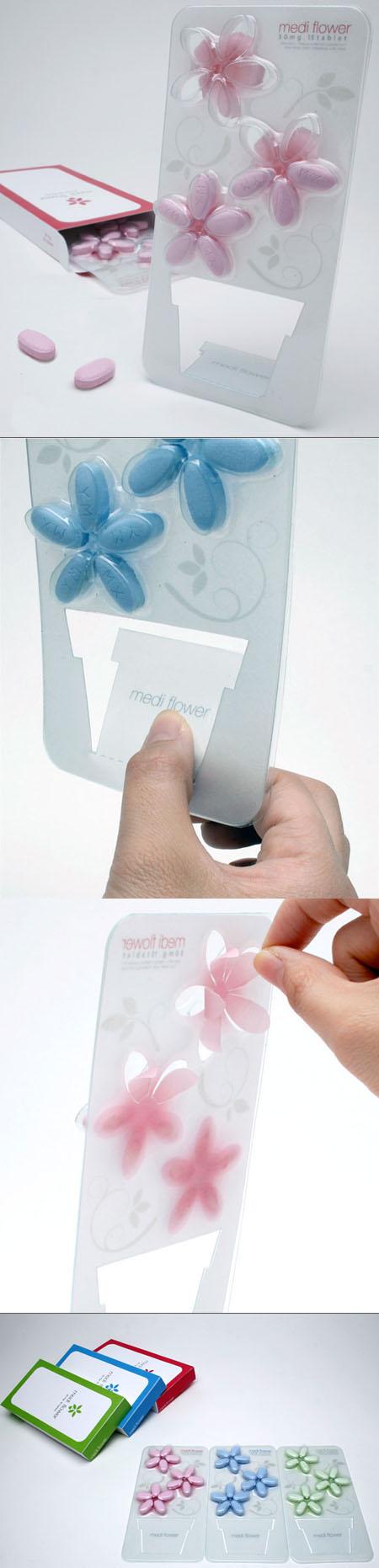 Packaging design Medi Flower