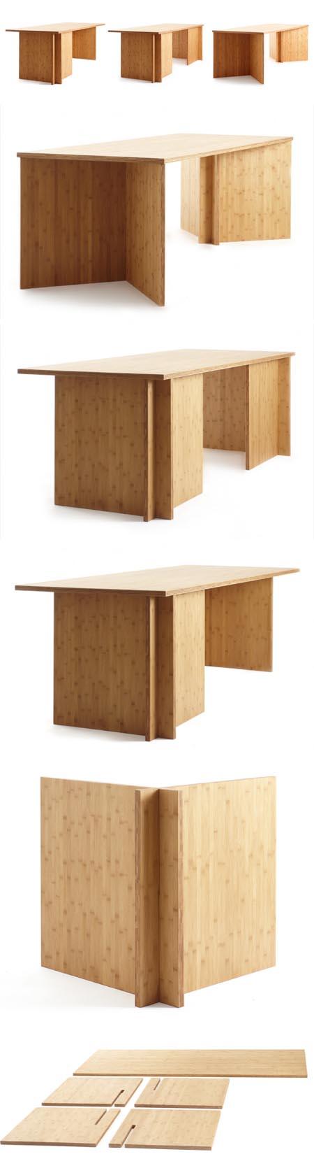 Slot Furniture tavolo 3 in 1