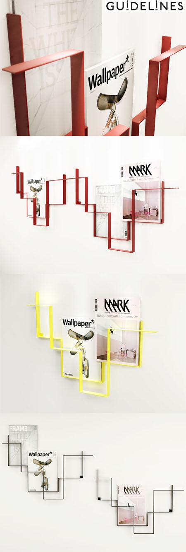 Molto Guidelines: portariviste dal design minimal di Frederik Roijè SO19