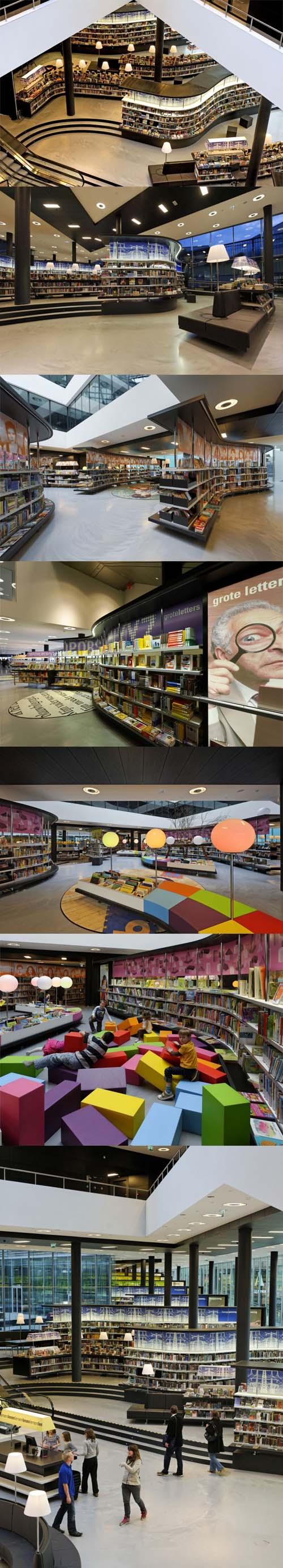 Architettura contemporanea la biblioteca olandese di almere for Architettura olandese